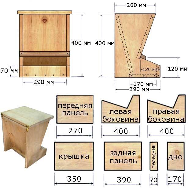 из древесины